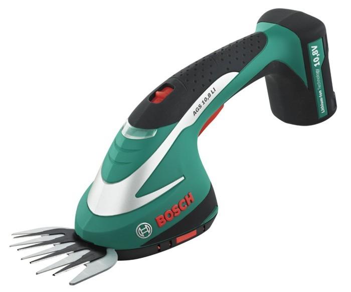 BOSCH AGS 10,8 LI aku nůžky na trávu