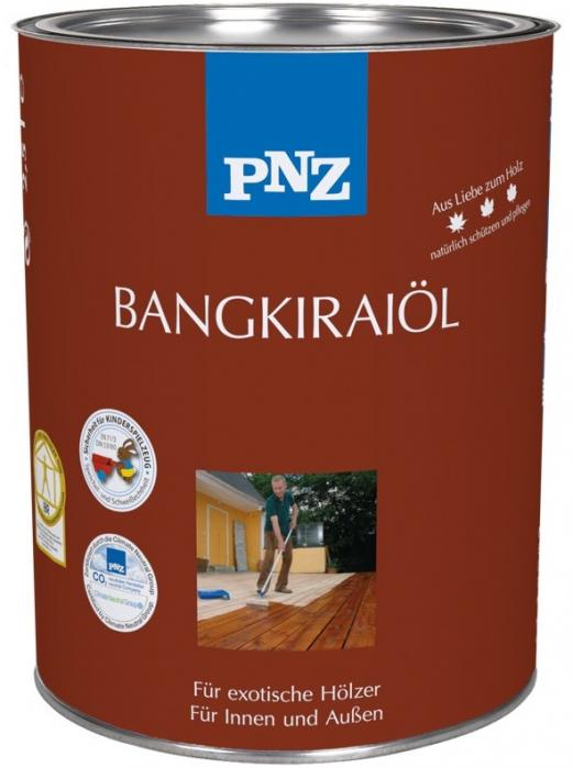 PNZ Olej Bangkirai tmavý (-BANGKIRAI-ÖL67 DUNKEL) 2,5L ochrana a ošetření exotických a ušlechtilých dřevin