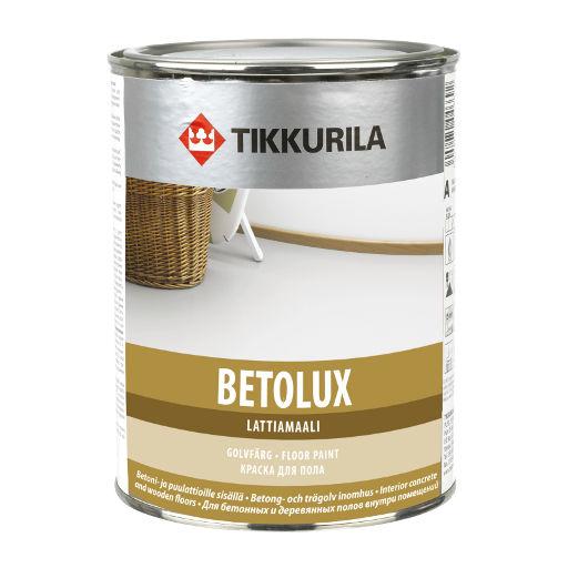 Tikkurila Betolux 0,9L bílá - nátěr na betonové a dřevěné podlahy ve vnitřním prostředí