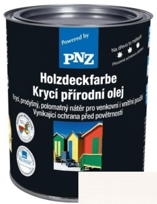 PNZ Krycí přírodní olej weiß / bílá 10 l
