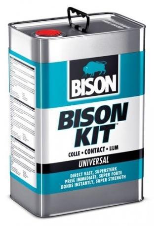 Bison Kit 10L kvalitní univerzální kontaktní lepidlo na bázi chloroprénu