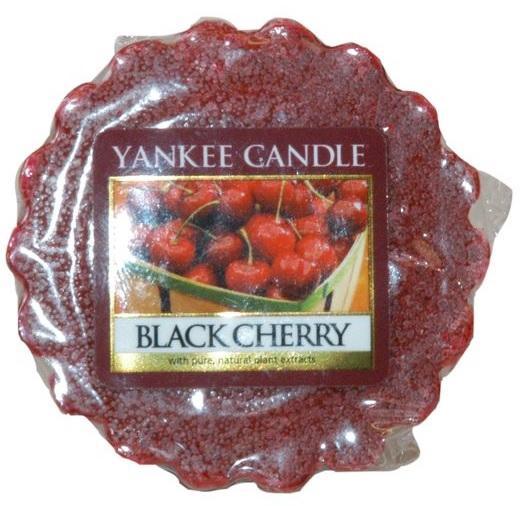YANKEE CANDLE Black Cherry VONNÝ VOSK DO AROMALAMPY Zralé třešně