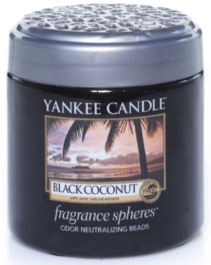 YANKEE CANDLE VOŇAVÉ PERLY SPHERES BLACK COCONUT