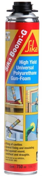 Sika Boom-G 750ml Pistolová montážní pěna na bázi polyuretanu pro profi použití
