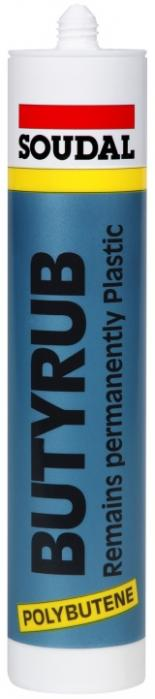 Soudal Butyrub kvalitní polybutylenový plastický tmel 310ml