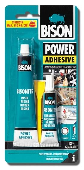 Bison Power Adhesive - Bisonite 65ml blistr - Velmi silné univerzální polyuretanové lepidlo