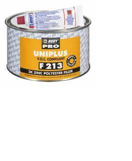 HB BODY Body uniplus F 213 2kg- na všechny kovové povrchy (hliník, ocel, galvanizovaná ocel),