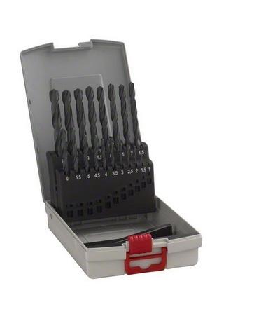 Bosch 2608587012 19dílná sada vrtáků do kovu HSS-R DIN 388