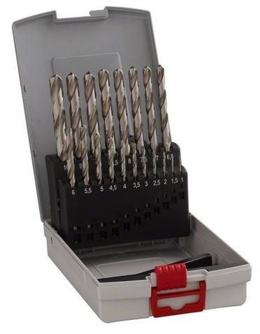 Bosch 2608587013 19dílná sada vrtáků do kovu HSS-G DIN 338