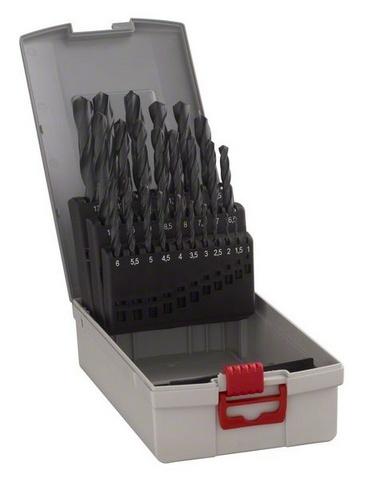 Bosch 2608587016 25dílná sada vrtáků do kovu HSS-R DIN 338