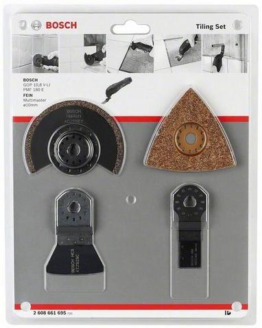Bosch 2608661695 4dílná sada na dlaždice Multi-Cutter