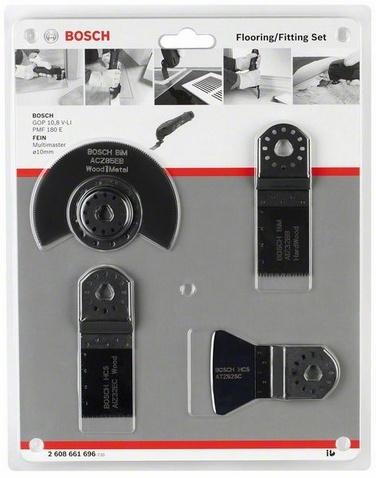 Bosch 2608661696 4dílná sada na podlahy | vestavby Multi-Cutter
