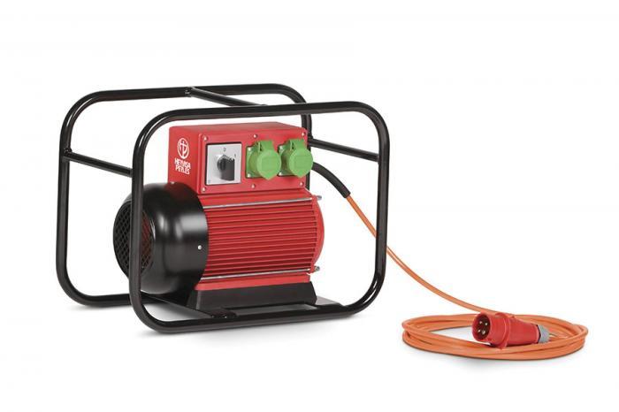 HERVISA PERLES CAF 220 měnič frekvence a napětí s výkonem 2,2 kVA.