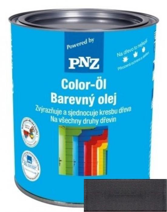 PNZ Barevný olej graphitschwarz / grafitová černá 0,25 l