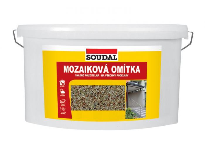 SOUDAL Mozaiková omítka sv. písek 044 16 kg