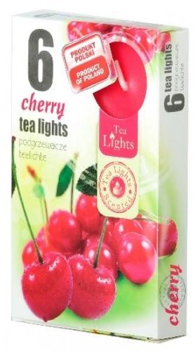 Z-Trade Čajové 6ks Cherry vonné svíčky