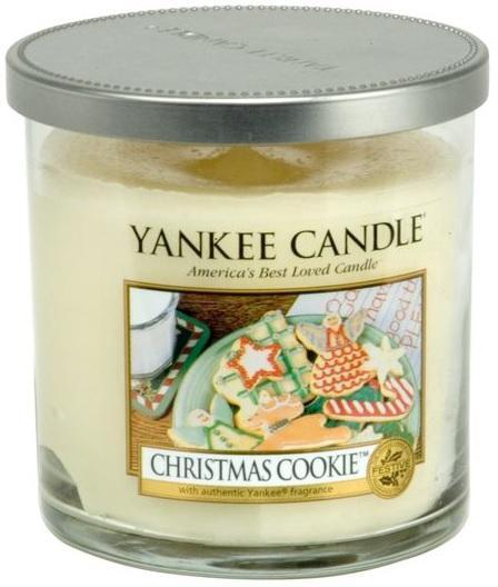 Vonná Svíčka YANKEE CANDLE Christmas Cookie DÉCOR MALÝ Vánoční cukroví