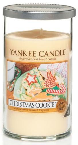 YANKEE CANDLE Christmas Cookie DÉCOR STŘEDNÍ Vonná Svíčka