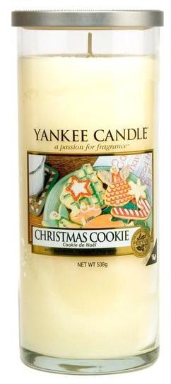 YANKEE CANDLE Christmas Cookie DÉCOR VELKÝ Vonná Svíčka