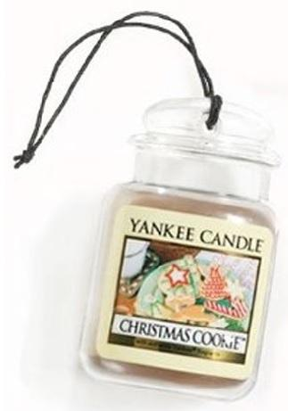 YANKEE CANDLE Christmas Cookie VŮNĚ DO AUTA - LUXUSNÍ VISAČKA Vánoční cukroví