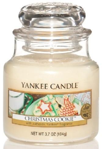 Vonná Svíčka YANKEE CANDLE Christmas Cookie CLASSIC MALÝ Vánoční cukroví