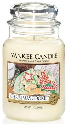 YANKEE CANDLE Vonná Svíčka Christmas Cookie CLASSIC VELKÝ Vánoční cukroví