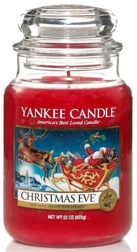 YANKEE CANDLE Vonná Svíčka Christmas Eve CLASSIC VELKÝ Štědrý večer