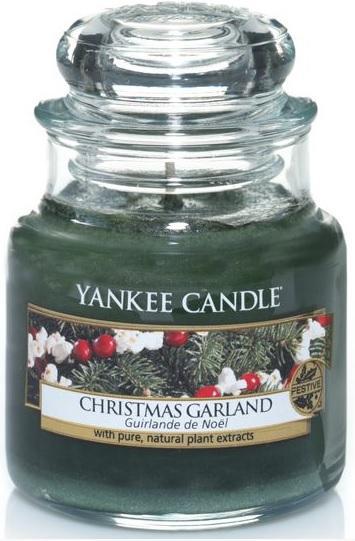 YANKEE CANDLE Vonná Svíčka Christmas Garland CLASSIC MALÝ Vánoční věnec