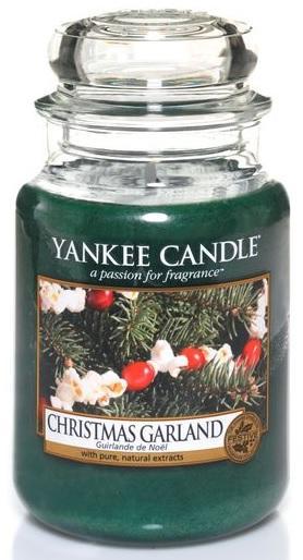 YANKEE CANDLE Vonná Svíčka Christmas Garland CLASSIC VELKÝ Vánoční věnec