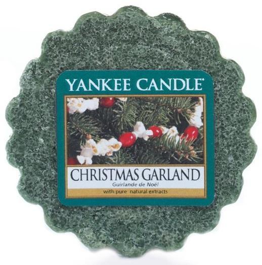 YANKEE CANDLE Christmas Garland VONNÝ VOSK DO AROMALAMPY Vánoční věnec