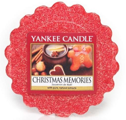 YANKEE CANDLE Christmas Memories VONNÝ VOSK DO AROMALAMPY Vánoční vzpomínky