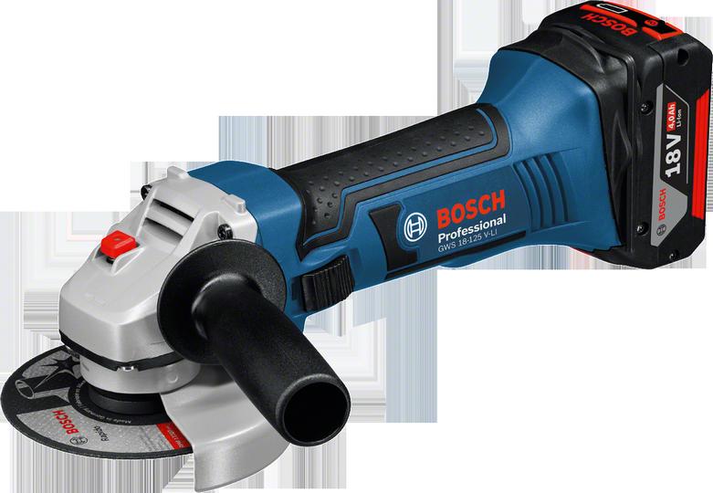 Bosch GWS 18-125 V-LI aku úhlová bruska 18V/5,0Ah