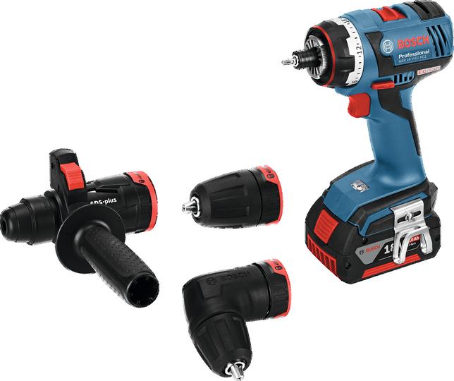 Bosch GSR 18 V-EC FC2 Set aku vrtací šroubovák 18V/5,0Ah