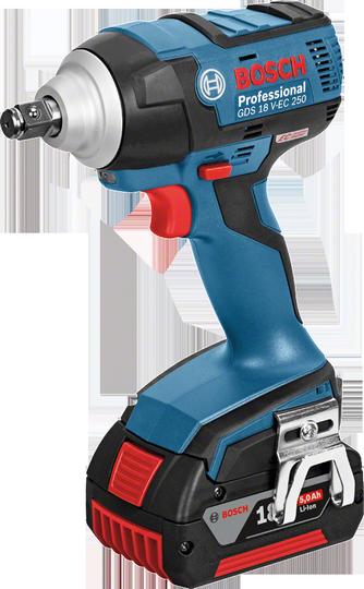 Bosch GDS 18 V-EC 250 Aku rázový utahovák 18V/5,0Ah