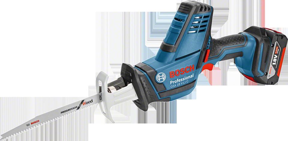Bosch GSA 18 V-LI C aku pila ocaska 18V/5,0Ah