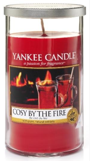YANKEE CANDLE COSY BY THE FIRE DÉCOR STŘEDNÍ