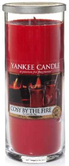YANKEE CANDLE COSY BY THE FIRE DÉCOR VELKÝ