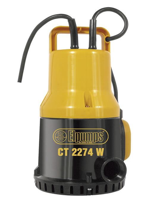 ELPUMPS CT 2274 W - univerzální ponorné čerpadlo