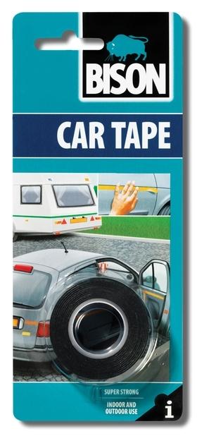 Bison Car Tape 19mm x 1,5m blistr - Ochranná lepící páska