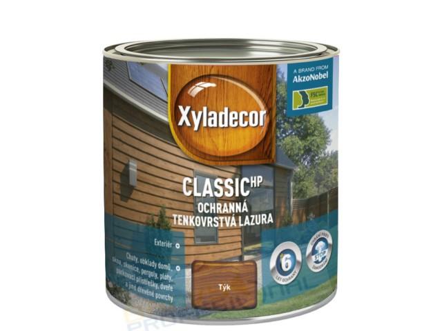 SADOLIN XYLADECOR CLASSIC 0,75L Barevný lazurovací prostředek na bázi rozpouštědel a alkydové pryskyřice