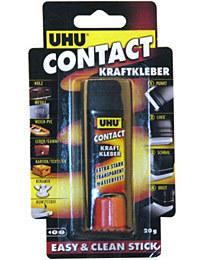 UHU contact kraftkleber / 20g vysouvací blok blistr, universální polyuretanové lepidlo v tyčince