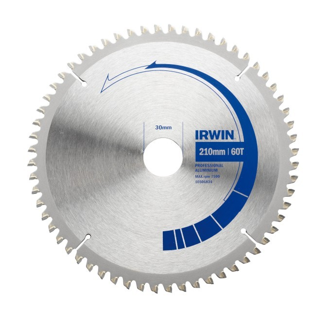 IRWIN Pilový kotouč Professional Aluminium 210 x 30 / 60 zubů 10506834