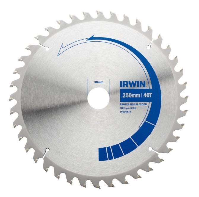 IRWIN Pilový kotouč Professional Wood 184 x 30 mm / 40 zubů 10506803