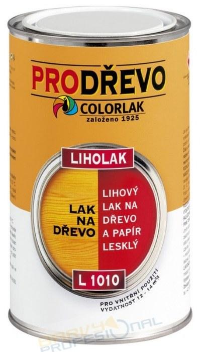 COLORLAK LIHOLAK L 1010 / 0,75L lihový lak na papír a dřevo, lesk
