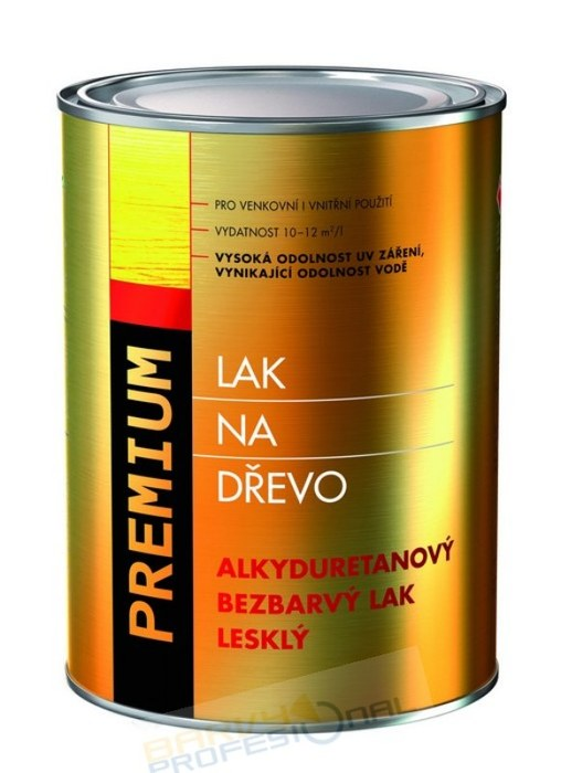 COLORLAK PREMIUM S 1016 / C0000 Bezbarvý lesklý / 5L alkyduretanový bezbarvý lak