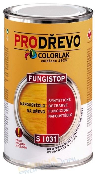 COLORLAK FUNGISTOP S 1031 / 2,5L syntetické bezbarvé fungicidní napouštědlo na dřevo