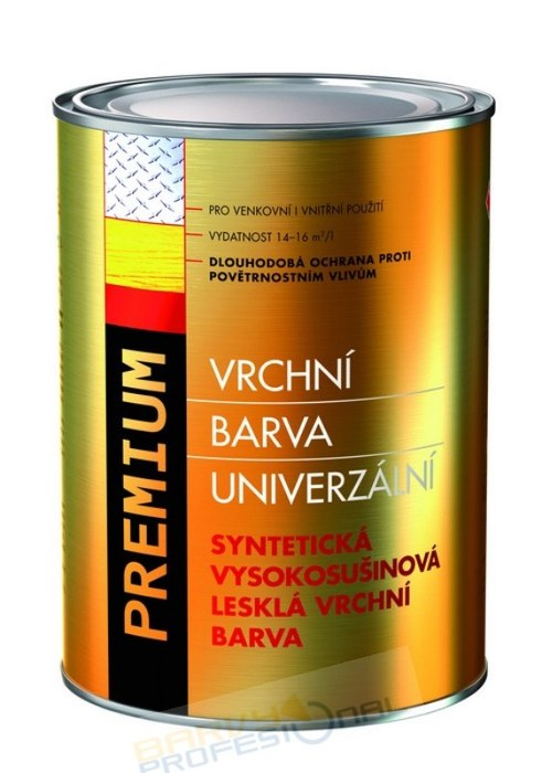 COLORLAK PREMIUM S 2150 / C1000 Bílá / 2,5L syntetická vysokosušinová lesklá vrchní barva