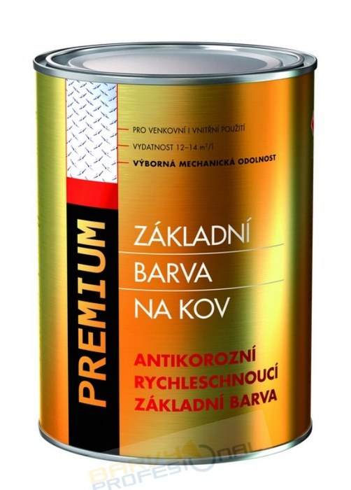 COLORLAK PREMIUM S 2230 / C0110 Šedá / 5L antikorozní rychleschnoucí základní barva