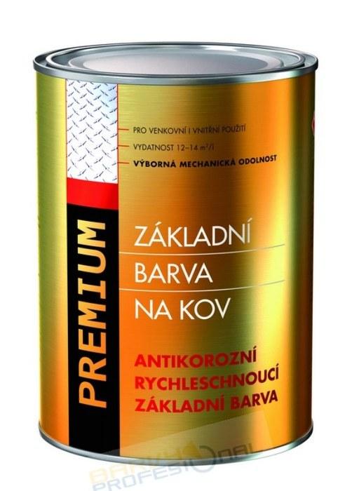 COLORLAK PREMIUM S 2230 / C0840 Červenohnědá / 1L antikorozní rychleschnoucí základní barva
