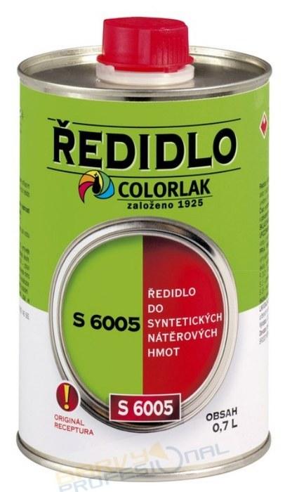 COLORLAK ŘEDIDLO S 6005 / 0,42L do syntetických nátěrových hmot